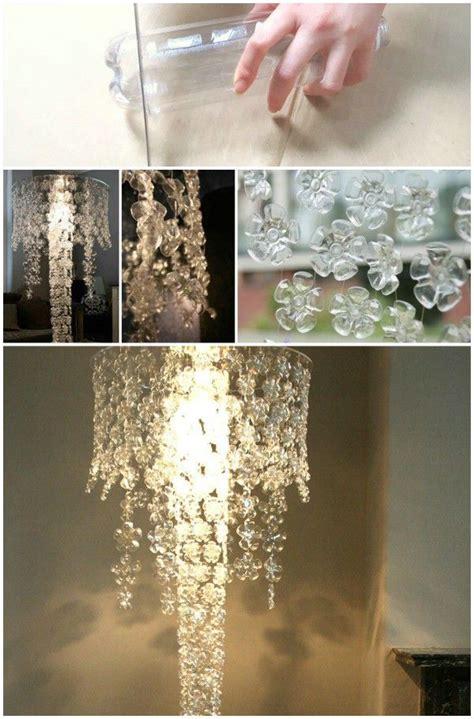 genius diy lamps  chandeliers  brighten   home diy plastic bottle flower diy