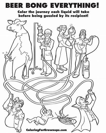 Coloring Adult Books Grown Ups Satanic Ryan