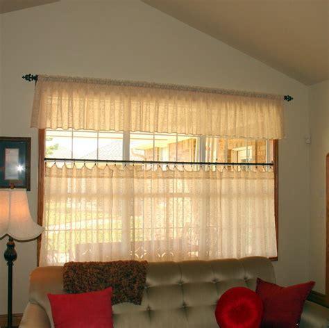 Cafe Curtains   Farmhouse   Living Room   oklahoma city