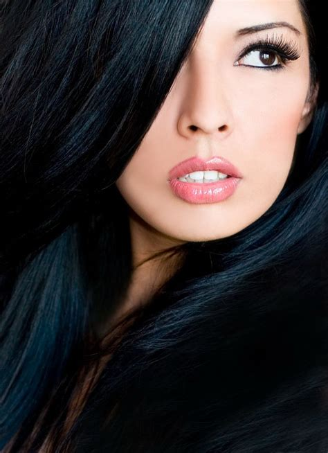 Black Hair Colors by The Hair Color For Your Skin Tone Lugo