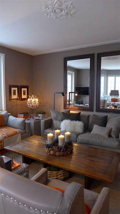 Cozy Living Colors Taupe Warm Gray Orange