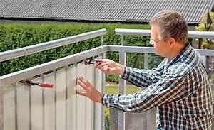 Sichtschutz Für Balkongeländer : balkon windschutz sichtschutz bild 13 ~ Markanthonyermac.com Haus und Dekorationen