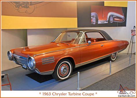Turbine Chrysler by Chrysler Turbine Car Car Classics