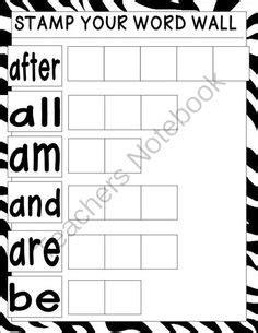 worksheets images worksheets sight word