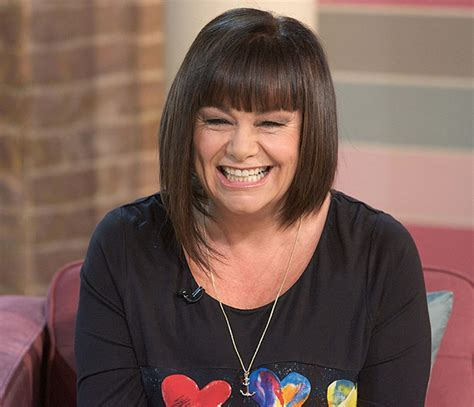 Dawn French flaunts her new figure on This Morning