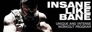Bane Workout  The Insane Bane Training Program