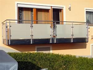 balkone aus edelstahl und glas kreative ideen fur With balkon teppich mit glas tapete