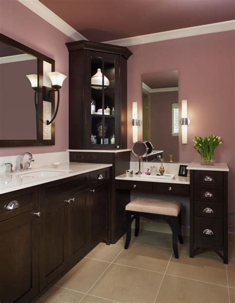 bathroom vanity with built in makeup area how much is the entire vanity corner glass shelf and the
