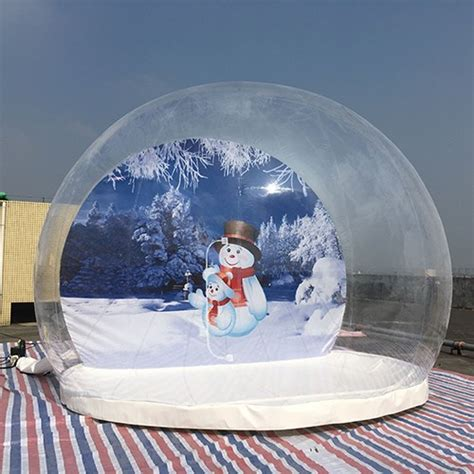 christmas inflatable snow globes outdoors  xianghe