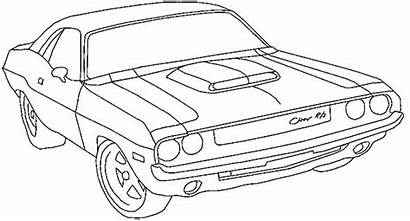 Coloring Dodge Challenger Charger Classic Ram Cars