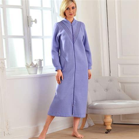 robe chambre femme robe de chambre en polaire pour femme