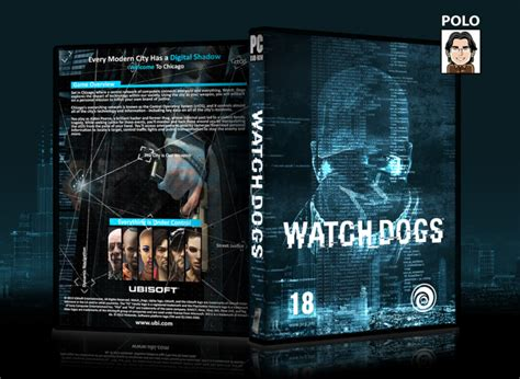Watch Dogs Pc Box Art Cover By Polo1234