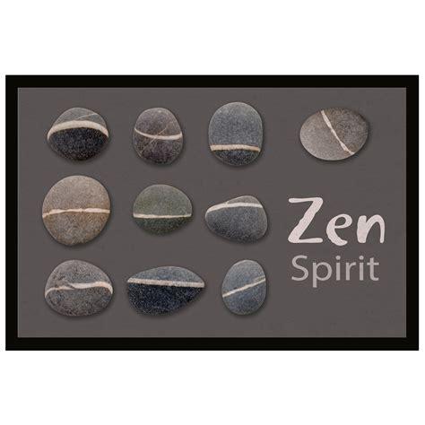 Tapis D Entrée Personnalisé Famille by Tapis D Entr 233 E Antid 233 Rapant 40 X 60 Cm Zen Stones Ebay