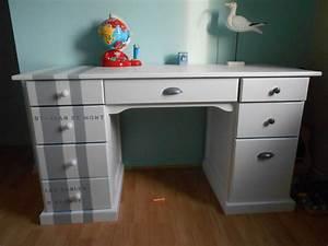 Bureau Pour Chambre : bureau photo de chambre pour mon gar on 8 ans les bricoles de st ph ~ Teatrodelosmanantiales.com Idées de Décoration