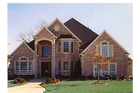 new american home plans grand brick home hwbdo57137 new american from builderhouseplans com