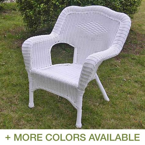 international caravan camelback resin wicker patio chairs
