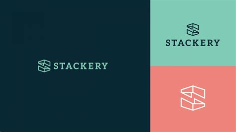 Stackery Startup Logo   Startup logo, Startup branding ...