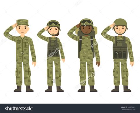 Soldier Clipart Soldiers Clipart Army Pencil And In Color