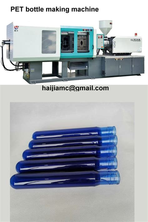 pet bottle making machine   plastic injection