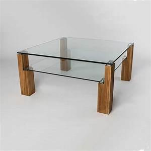 Couchtisch Höhenverstellbar Glas : couchtisch holz glas quadratisch ~ Markanthonyermac.com Haus und Dekorationen