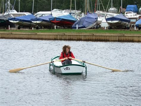 Ella Skiff Boat Plans by We Try The Rowing Version Of The Ella Stitch And Glue