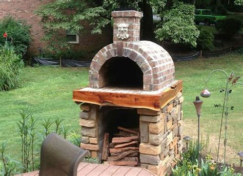 shiley family wood fired diy brick pizza oven  south