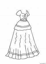 Coloring Printable Colorear Ballroom Dresses Template Catrina Libro Templates Ball Quizlet Drawings Gowns Bd sketch template