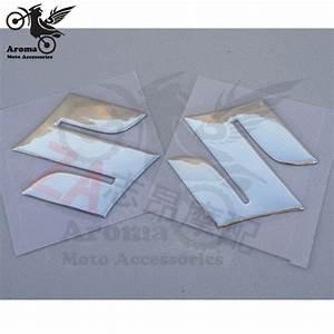 1 paire moto stickers pour suzuki embleme badge sticker 3d With carrelage adhesif salle de bain avec macbook pro led
