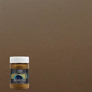 Modern masters 6 oz blackened bronze matte metallic for Home depot metallic furniture paint