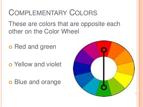 complementary color definition colorwheel colorscheme