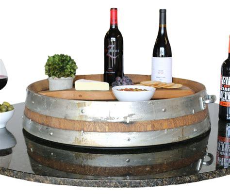 barrel tray vita vino wine barrel pits and furniture