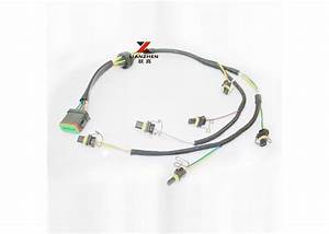 C7 Injector Excavator Electrical Wiring Harness With Water Resistance