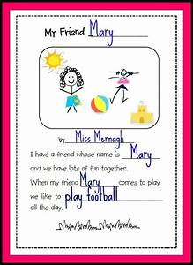 Friendship Week Resources: My Friend Poem | missmernagh.com
