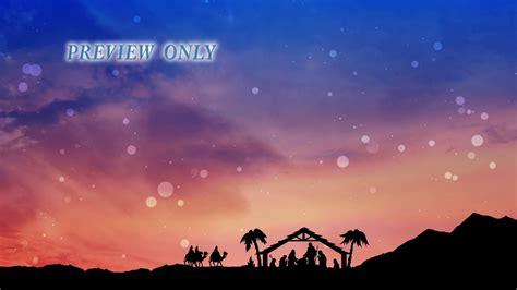wise men christmas nativity motion background  vimeo