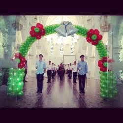 wedding arches singapore singapore wedding decoration that balloons
