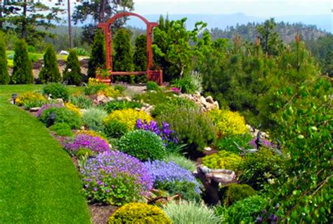 best bushes shrubs for simple landscaping design idea