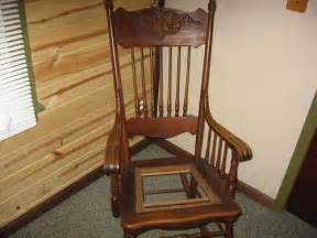 wooden rocking chair for sale in la porte indiana