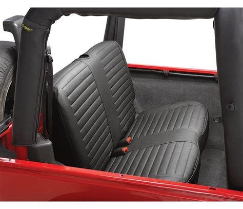 jeep wrangler backseat jeep 2006 wrangler rear seat cover bestop
