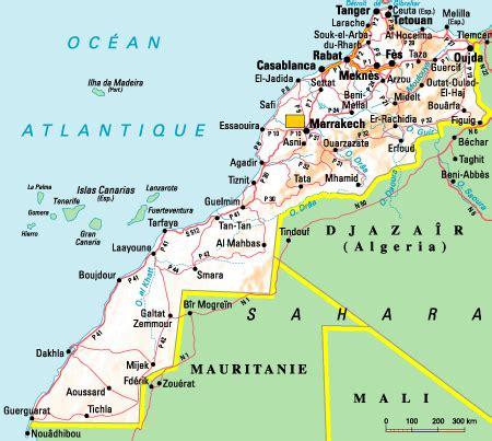 Carte Du Maroc Avec Les Principales Villes by Maroc Villes Imp 233 Riales Marrakech F 232 S Mekn 232 S Et Le Sud