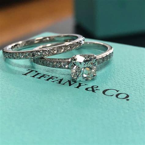 tiffany  engagement ring  wedding band  regard