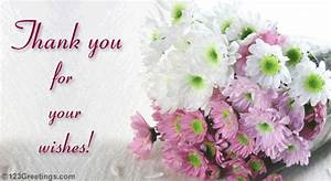 thanks for your wishes free thank you ecards greeting