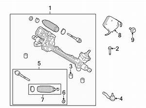 Ford Fusion Steering Tie Rod End  End