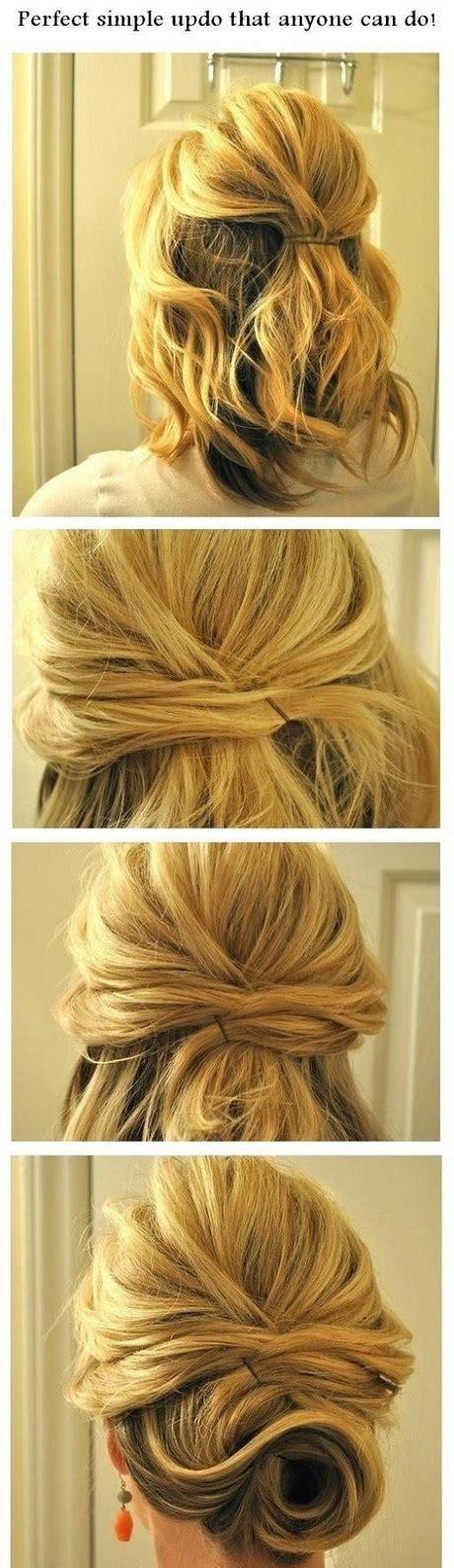 attacher cheveux mi long