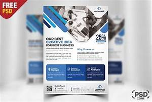 Corporate Business Flyer Template PSD - Download PSD