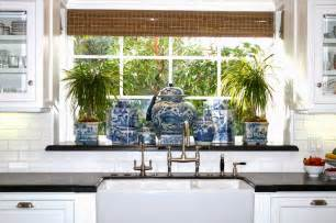 blue and white kitchen ideas the glam pad 25 white kitchens with blue white accessories