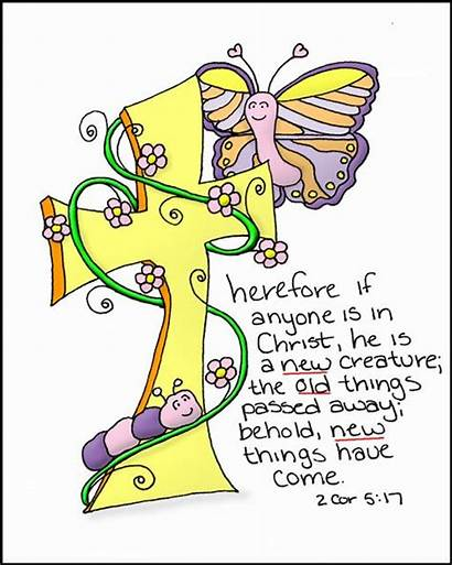 Corinthians Bible Creation Doodle Christ Scripture Through