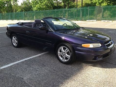 chrysler sports car convertible sell used chrysler sebring sport convertible sport cheap