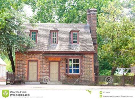 Quaint Colonial Home Stock Images Image 27415804