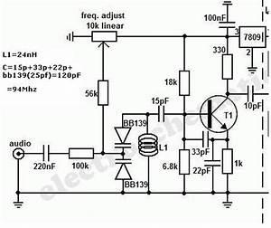 Simple but effective fm transmitter help vco for Fm vco transmitter