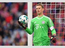 Shock for Bayern Manuel Neuer out for the rest of 2017